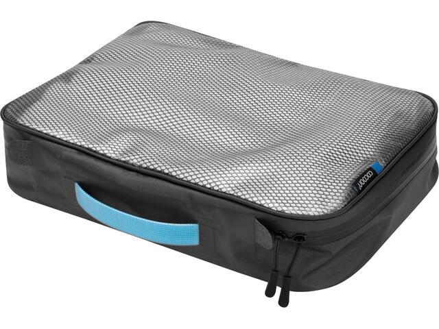 Cocoon Packing Cube con rete laminata superiore M, grigio